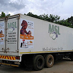 Kit Yamoyo adverts now in place on MSL trucks