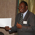 "A big ""thank you"" to Dr Kasonde Hon Minister of Health (retired)"